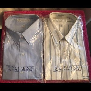 Two Brand New Vintage Shirts.